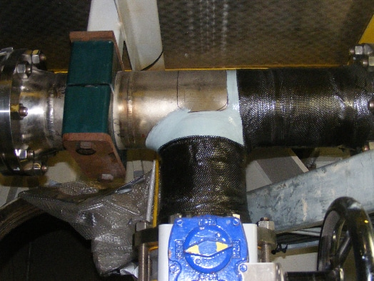 application of marine HydraWrap