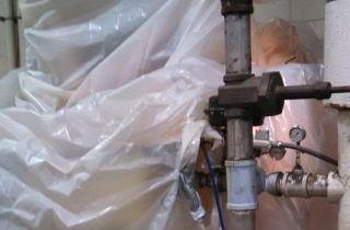 water tank leak repair