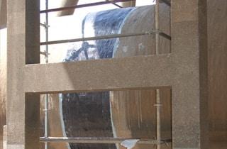 pipe repair wrap application
