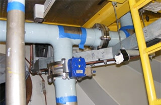 hydroelectric dam pipe repair