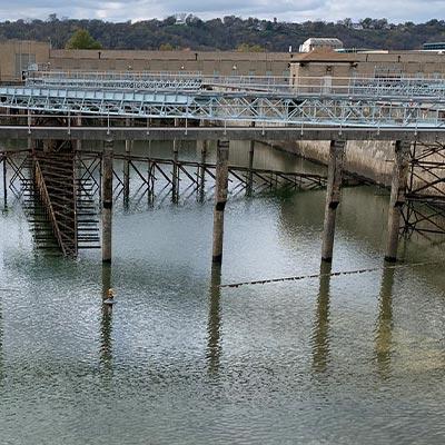 hydroelectric plant repair